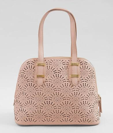 Moda Luxe Alondra Perforated Satchel Purse