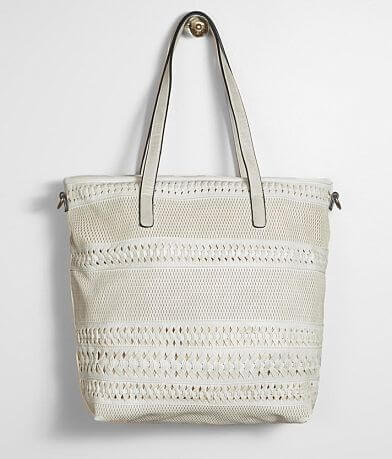 Moda Luxe Magdelena Weaved Tote