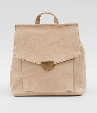 Moda Luxe Genuine Suede Backpack
