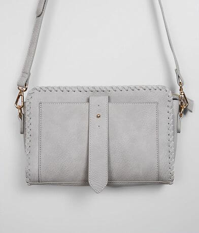 Moda Luxe Faux Leather Crossbody Purse