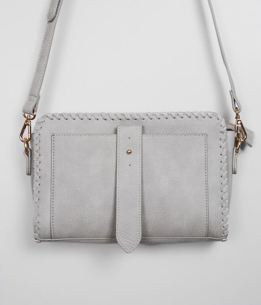 Moda Luxe Faux Leather Crossbody Purse