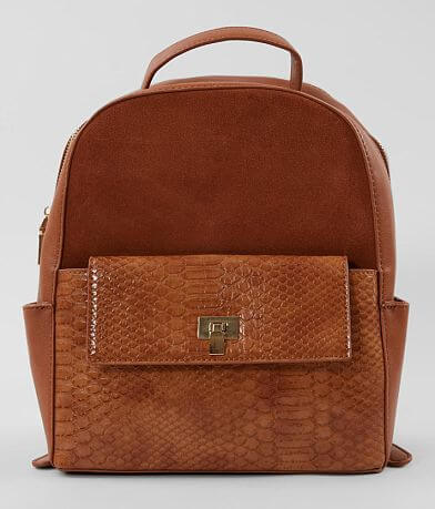 Moda Luxe Pieced Suede Backpack