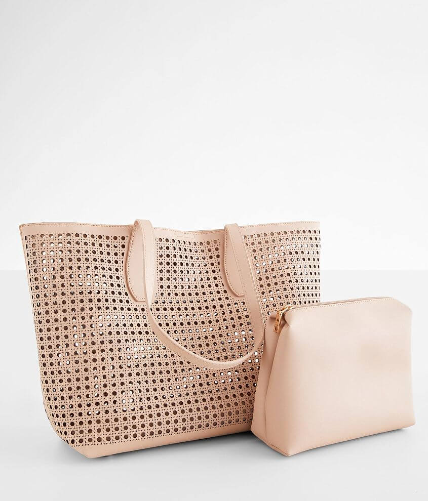 Moda Luxe Brazil Perforated Tote