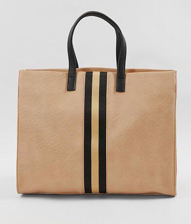 Moda Luxe Julian Structured Varsity Striped Purse