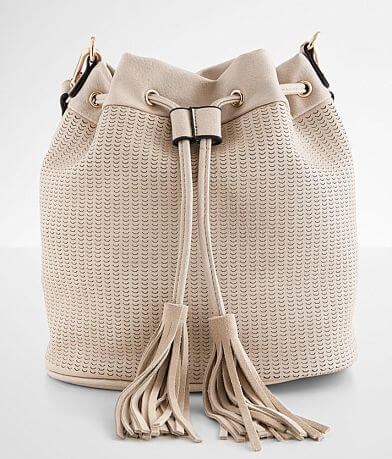 Moda Luxe Allie Laser Cut Bucket Purse
