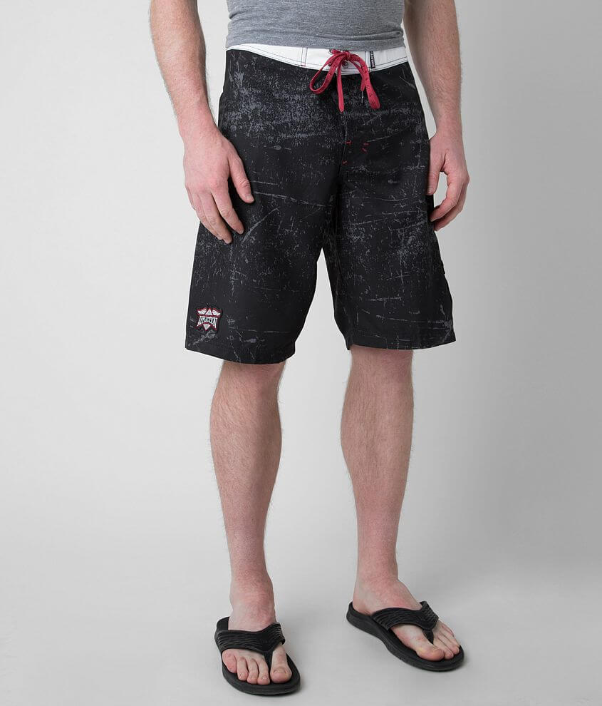 Affliction Speed Star Stretch Boardshort front view