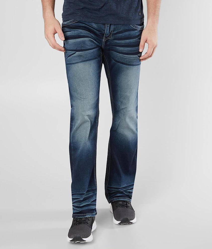 Regular fit bootcut jean Stretch fabric Low rise, 18\\\