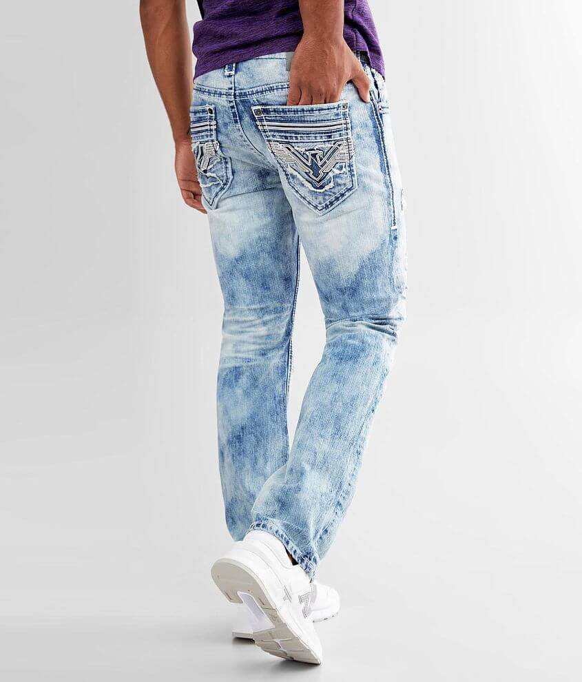 Relaxed fit jean Comfort stretch fabric Straight from knee to hem Mid-rise, 16\\\