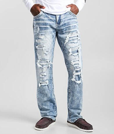Men S American Fighter Jeans Buckle