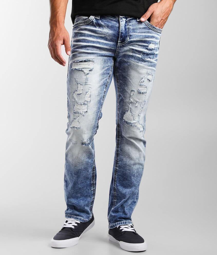 American Fighter Striker Relaxed Straight Jean front view