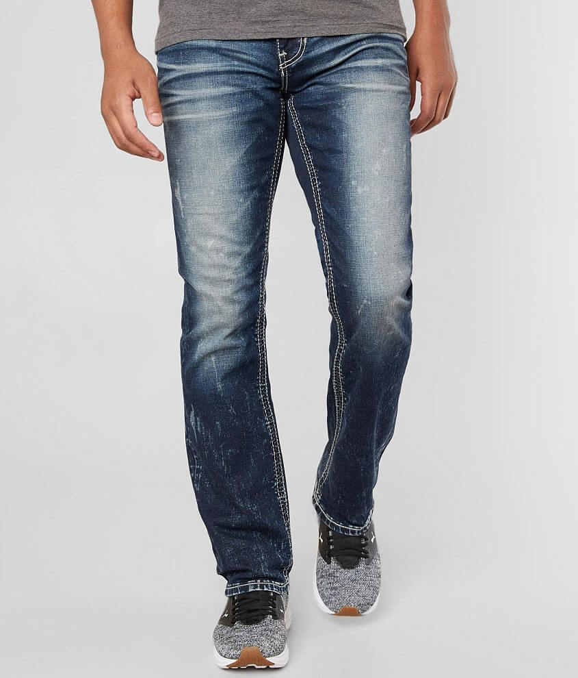 Slim fit jean Performance stretch fabric for a higher level of flexibility Straight from knee to hem Low rise, 16\\\
