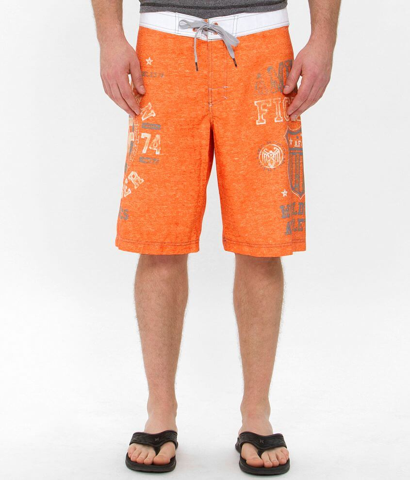 American Fighter Davenpaint Boardshort front view