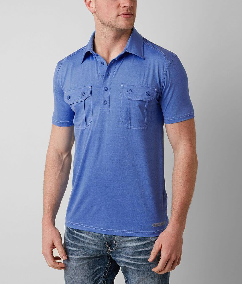 American Fighter Fort Albion Hydrocore Polo front view