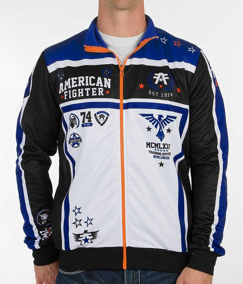 American Fighter Hastings Active Jacket front view