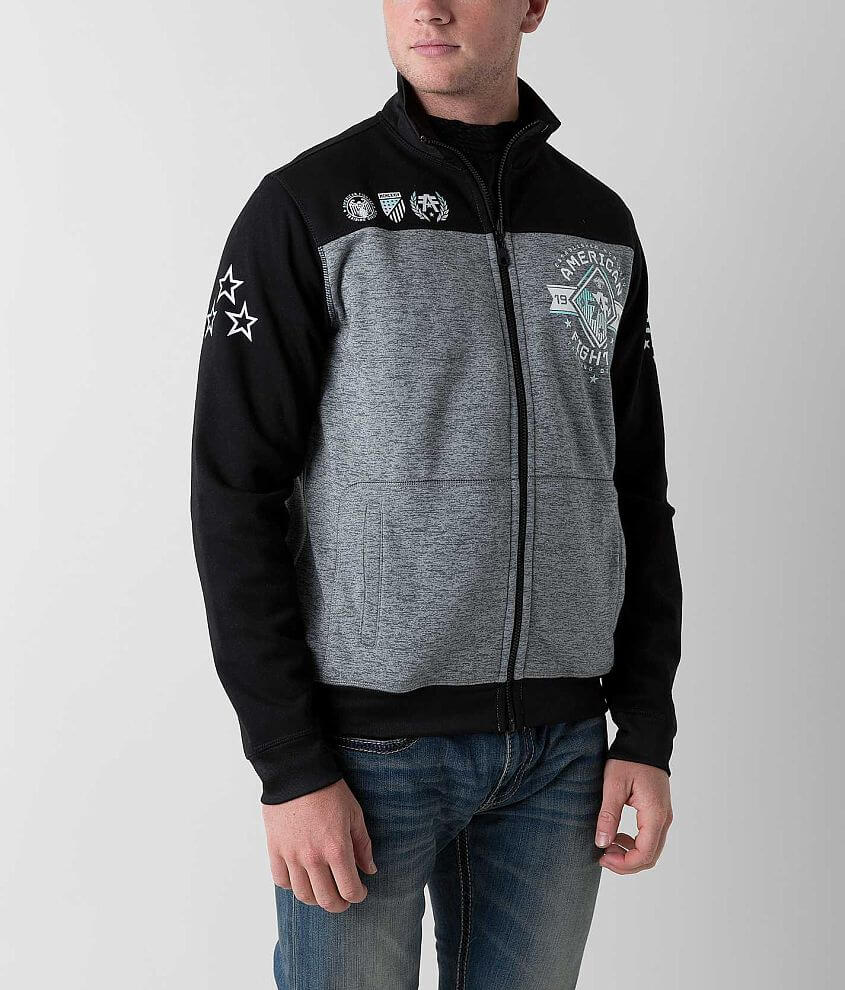 American Fighter Strategic Line Reversible Jacket front view