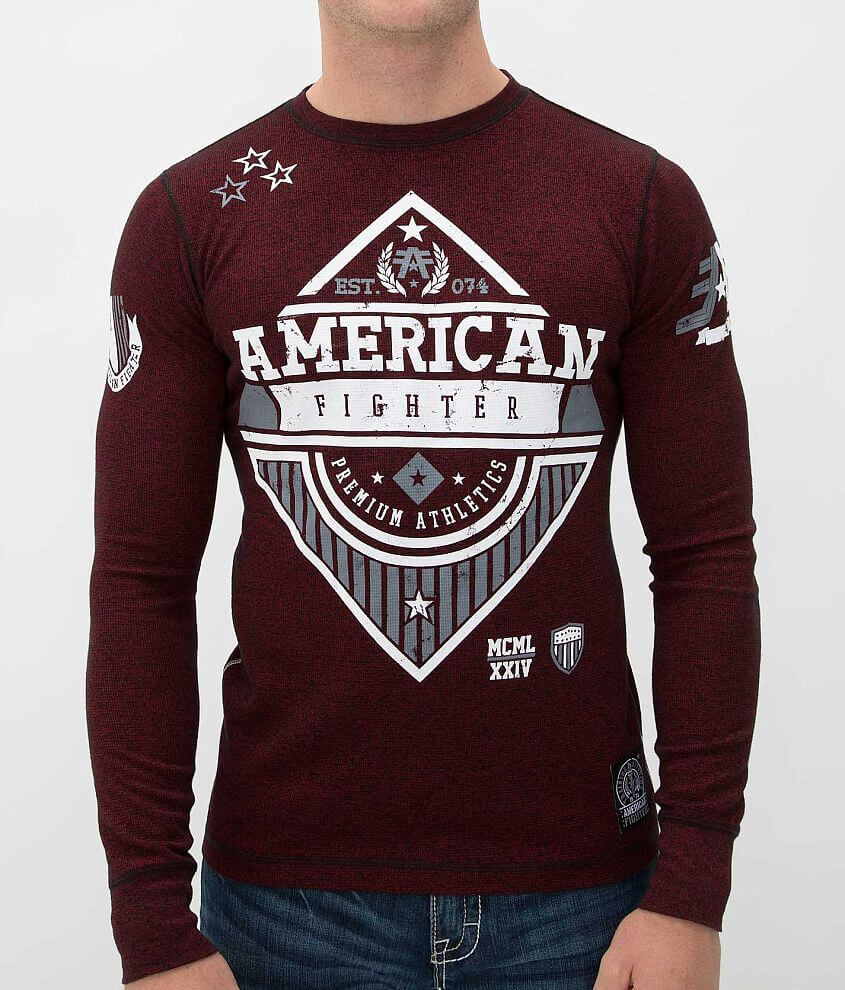 American Fighter Clarkson Thermal Shirt front view