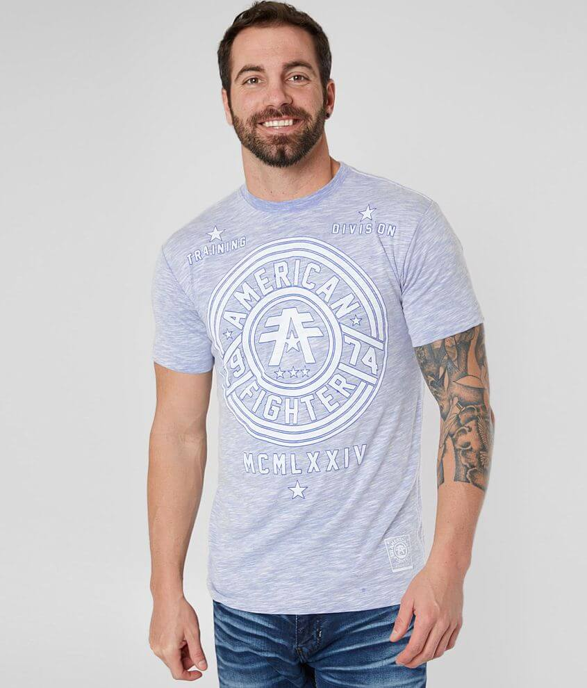 Graphic marled t-shirt Contrast coverstitch accents Model Info: Height: 5\\\'11\\\