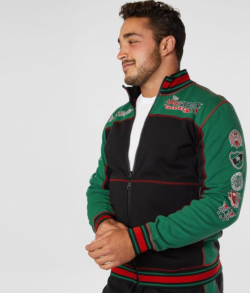 American Fighter Gardena Reversible Track Jacket front view