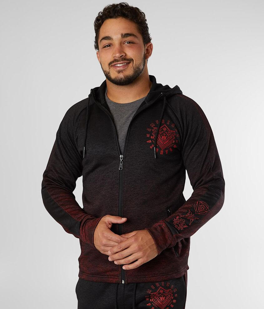 American Fighter Paramount Hooded Sweatshirt front view