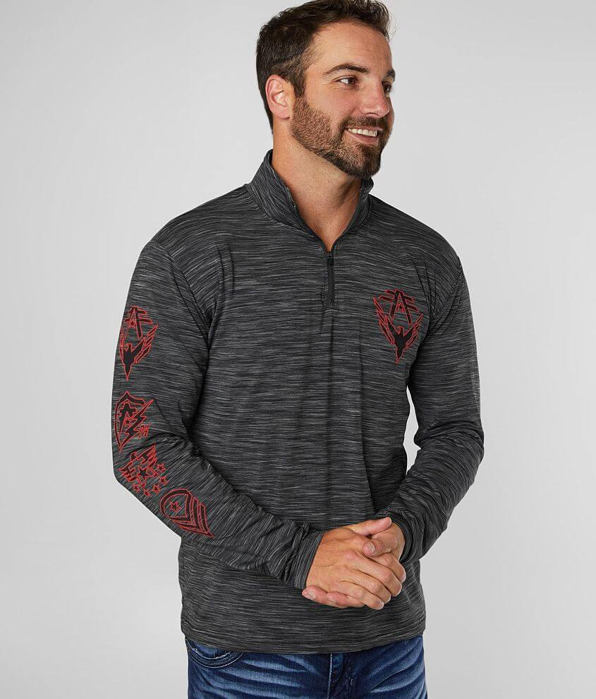 American Fighter Fowler Pullover front view