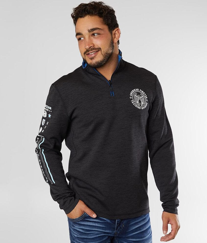 American Fighter Fullerton Reversible Pullover front view