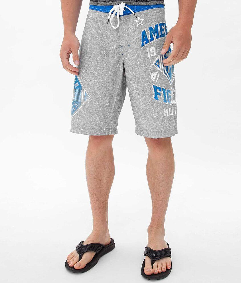 American Fighter Laguna Boardshort front view