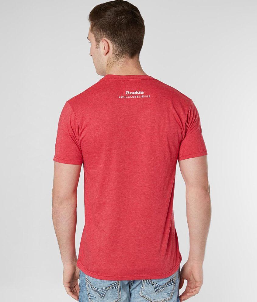 048c38c98 Nebraska Strong Flood Relief T-Shirt - Men's T-Shirts in Red Heather ...