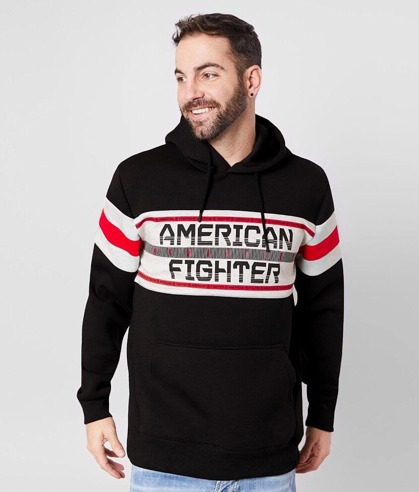 American Fighter City Point Hooded Sweatshirt front view