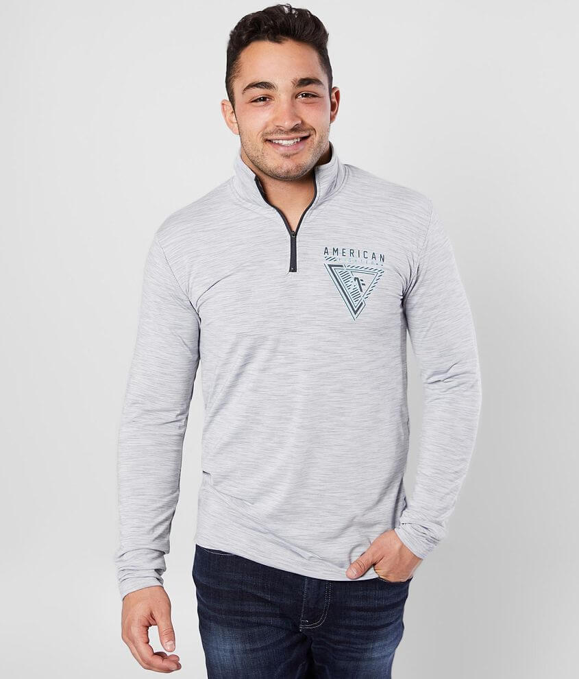 American Fighter Carmichael Quarter Zip Pullover front view