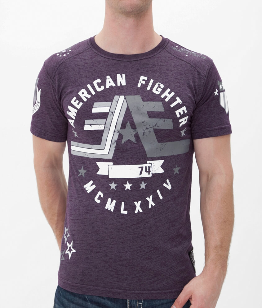 American Fighter Warner T-Shirt front view