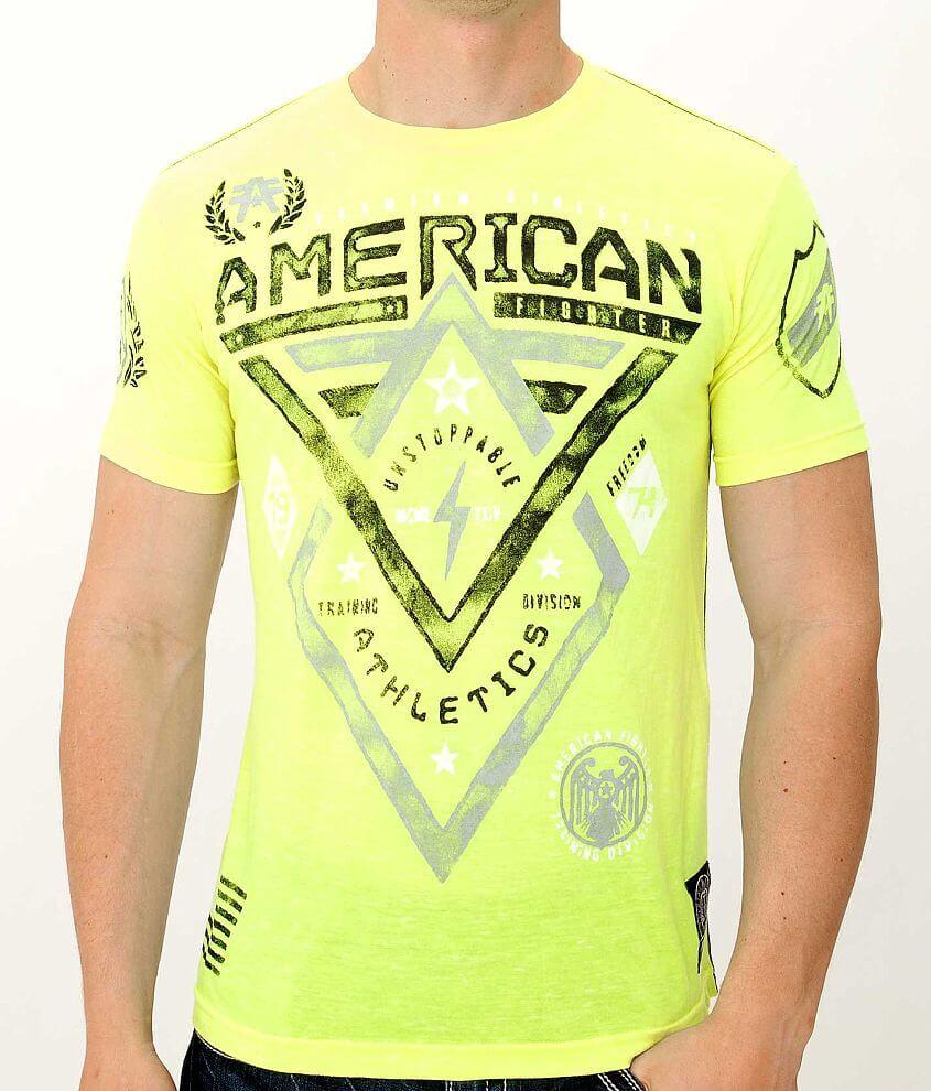 American Fighter Alaska Artisan T-Shirt front view
