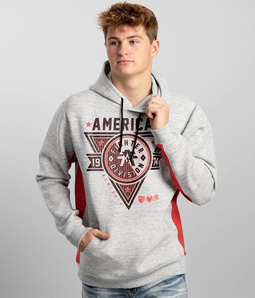 American Fighter Siena Heights Hooded Sweatshirt front view