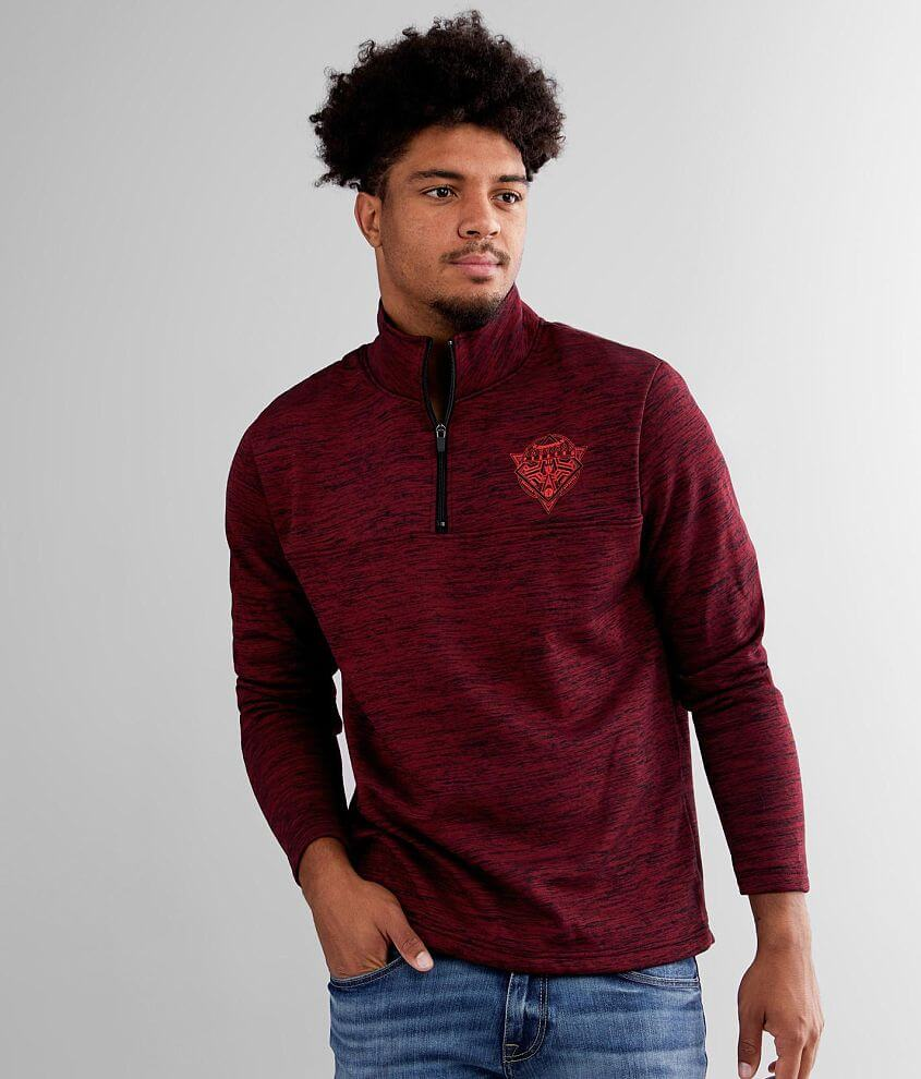 American Fighter Hawthorn Mock Neck Pullover front view