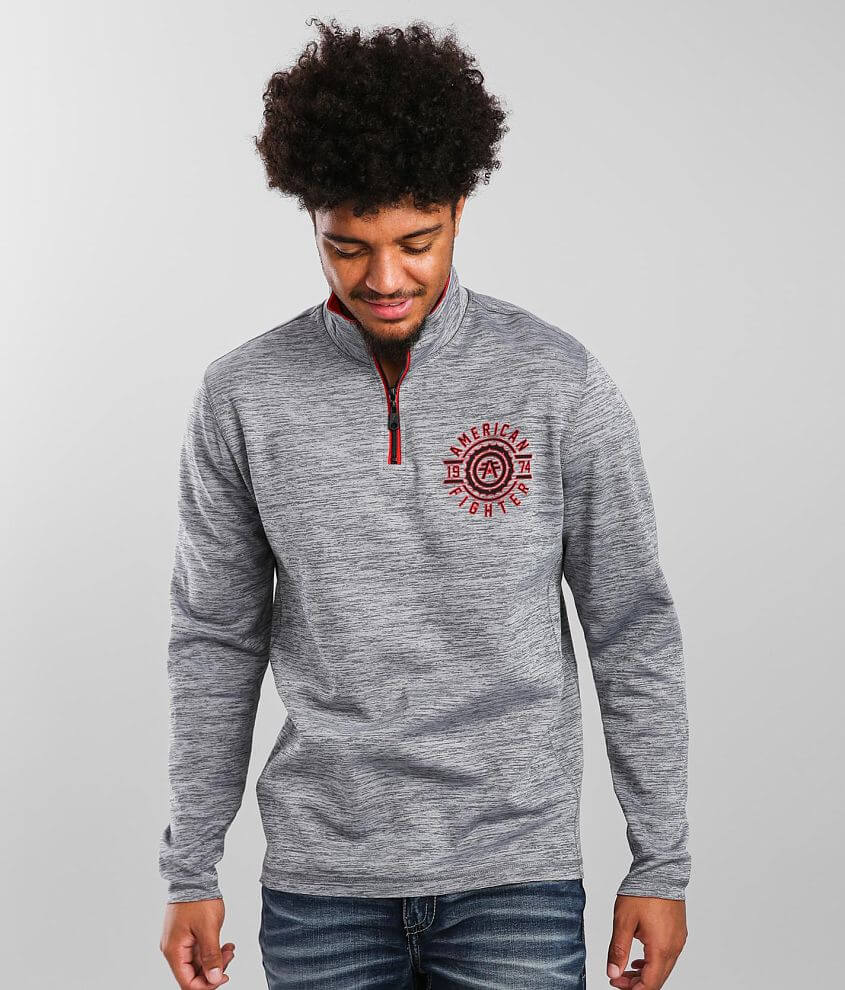 American Fighter Fair Grove Reversible Pullover front view