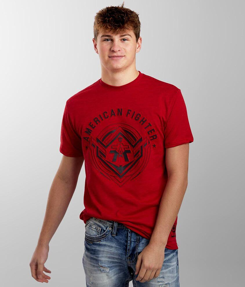 American Fighter Gurley Reflective T-Shirt front view