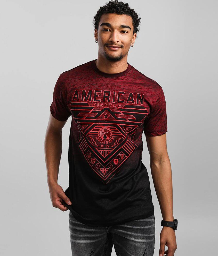 American Fighter Mountville T-Shirt front view