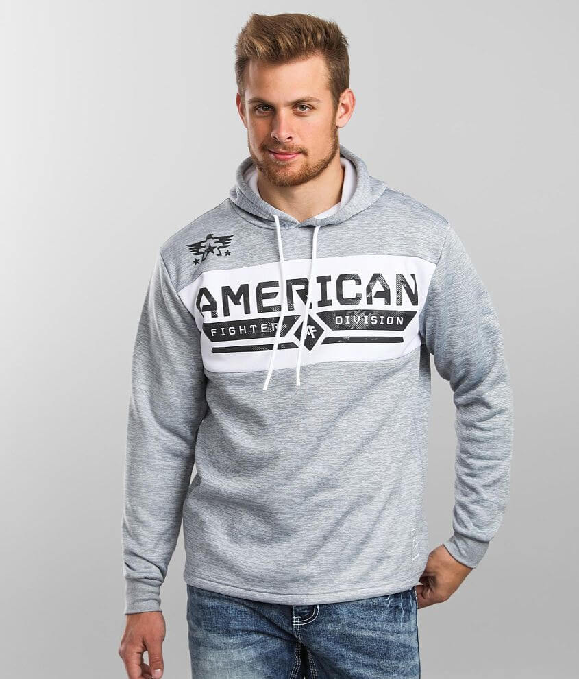 American Fighter Crystal River Hooded Sweatshirt front view