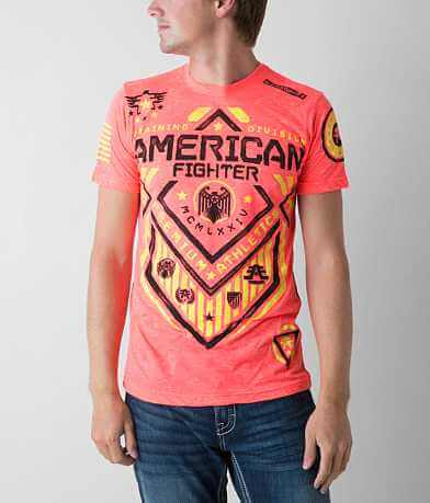 American Fighter North Dakota T-Shirt