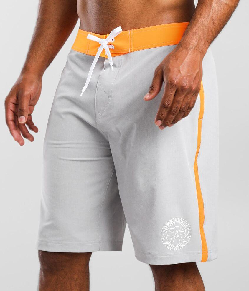 American Fighter Triumph Stretch Boardshort front view