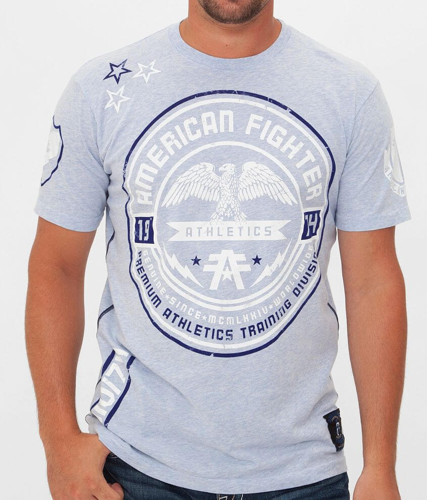 American Fighter Rollins T-Shirt front view