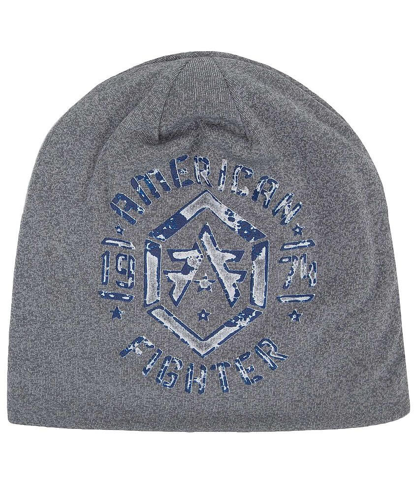 American Fighter Calvin Beanie front view