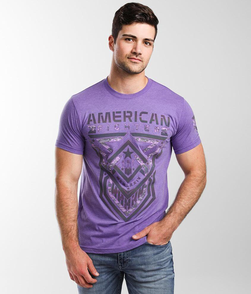 American Fighter Cisco Reflective T-Shirt front view