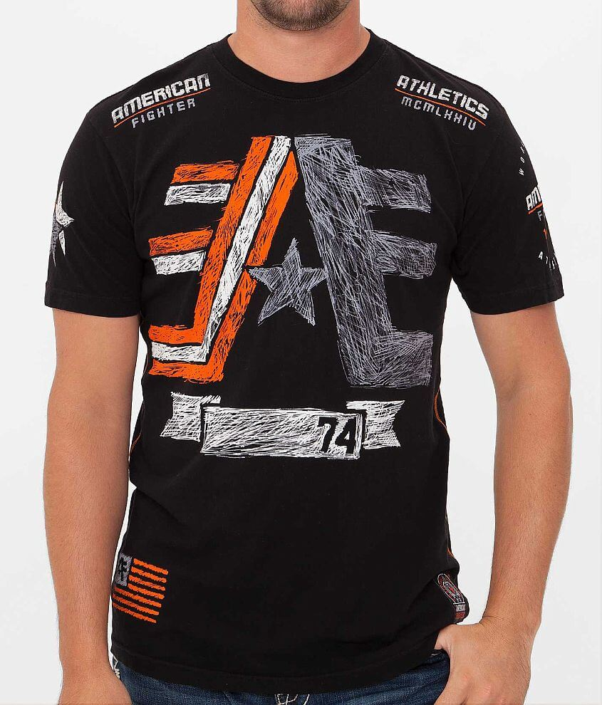 American Fighter Cornerstone T-Shirt front view
