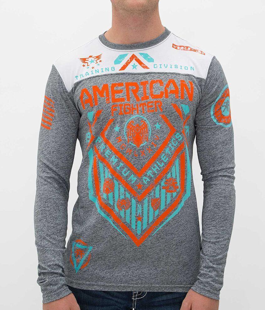 American Fighter North Dakota T-Shirt front view