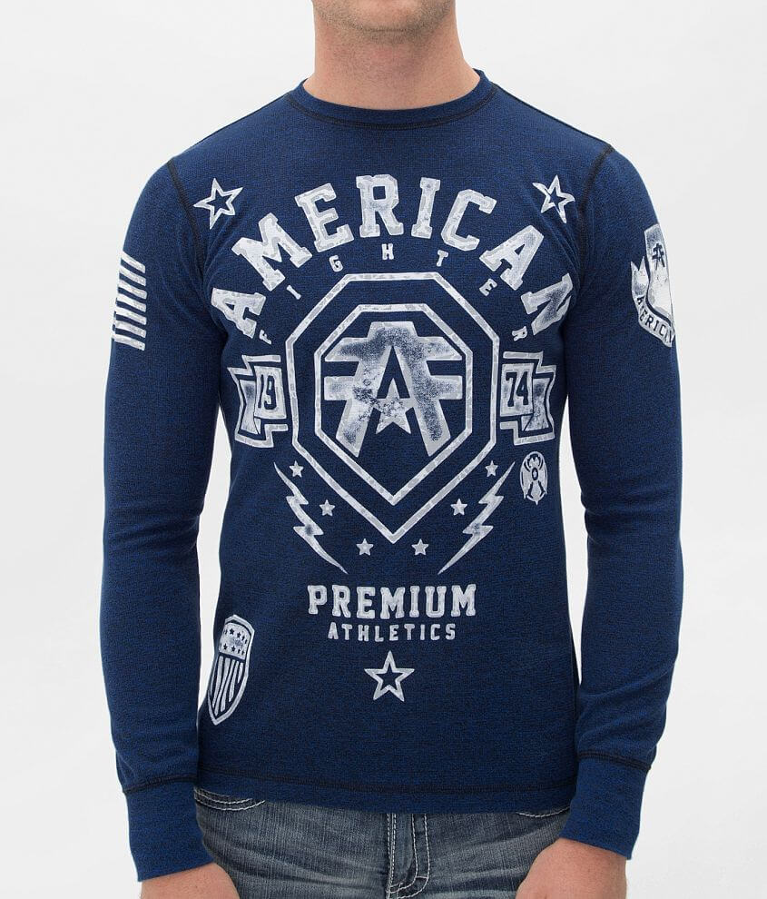 American Fighter Hanover Thermal Shirt front view