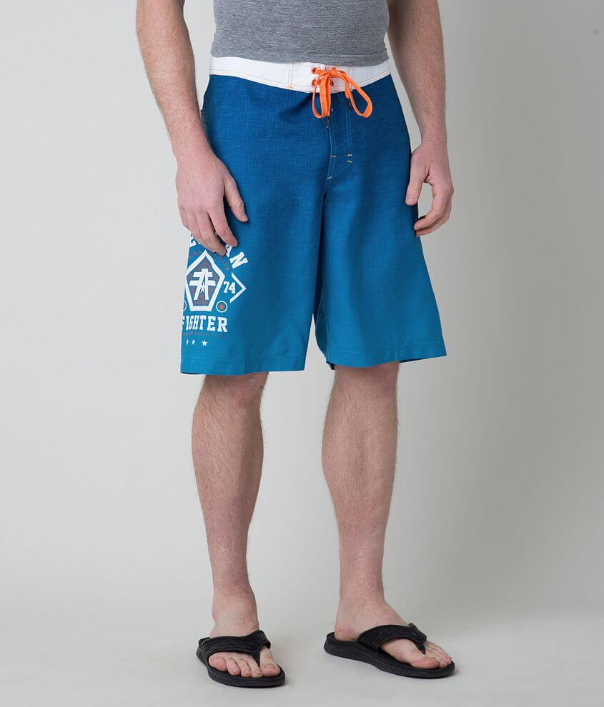 American Fighter Delaware Stretch Boardshort front view