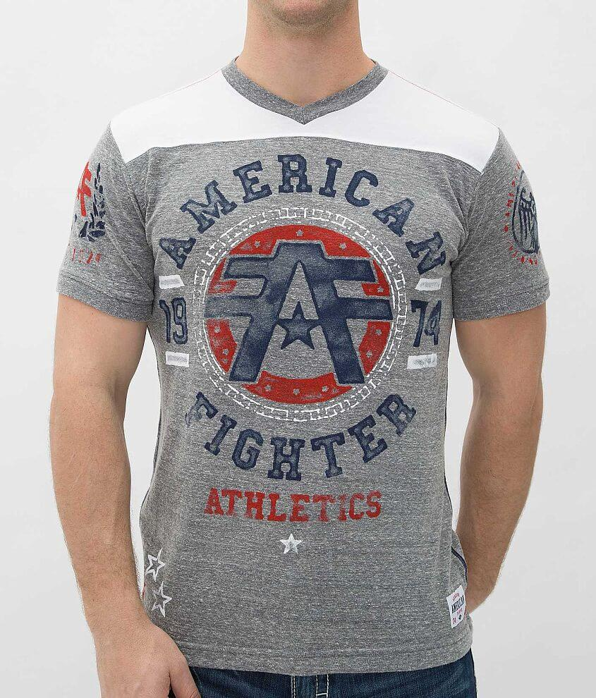 American Fighter Oregon T-Shirt front view