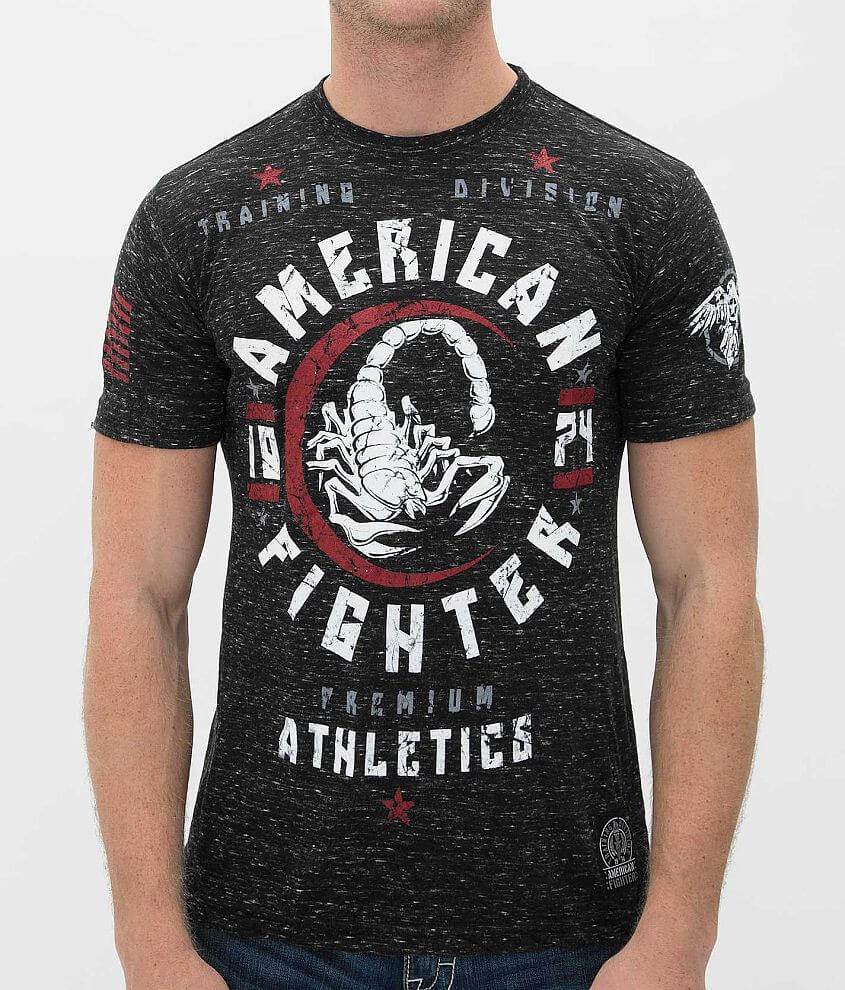 American Fighter Michigan T-Shirt front view