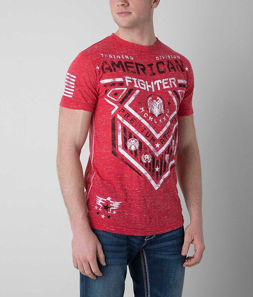 American Fighter Hunter T-Shirt front view