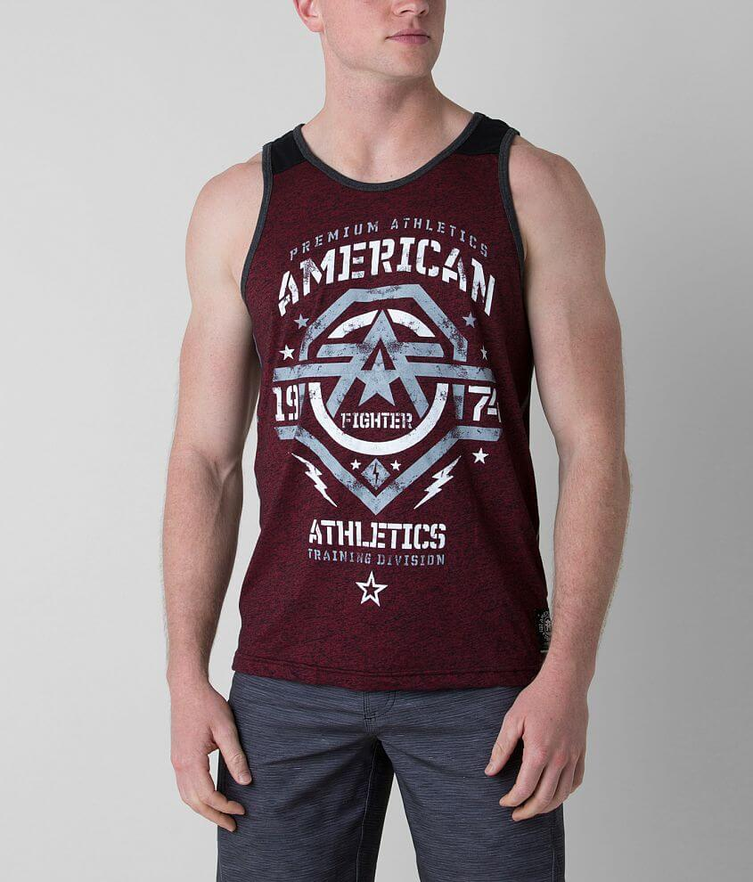 American Fighter New Mexico Tank Top front view
